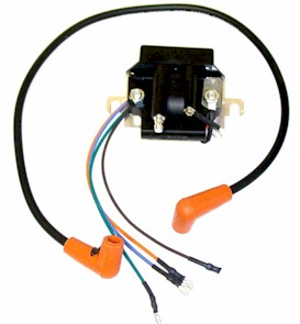 Force 50hp, Ignition Pack, Coil & CD replaces Prestolite