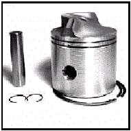 Force Outboard Motor part: Piston