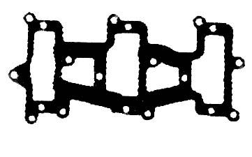 Chrysler / Force Outboard Motor 3 Cylinder Intake Gasket, Carb to Reed Adapter, Force 85-90hp Chrysler 75-85hp, SportJet 1990/95
